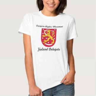Droits de vampire - Finlande Tshirt