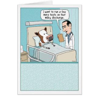 Drôle obtenez la carte bonne Effrayez l hôpital