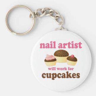 Drôle travaillera pour l'artiste de clou de petits porte-clés
