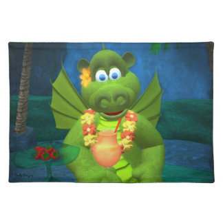 Drolly Dragons Charming Girl Placemat