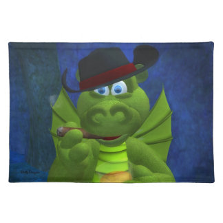 Drolly Dragons Gentle Placemats