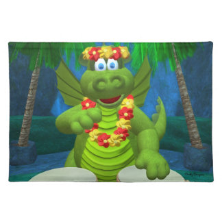 Drolly Dragons Party Drummer Placemats