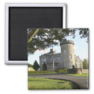 Dromoland Castle side entrance with no people Magnet