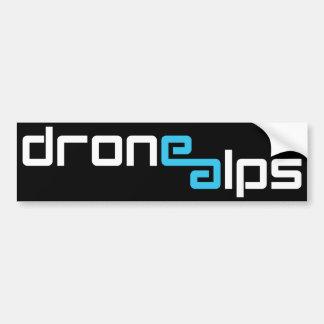 Drone Alps Logo (White & Blue) Bumper Sticker