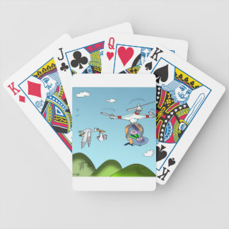 Drone Cartoon 9482 Bicycle Playing Cards