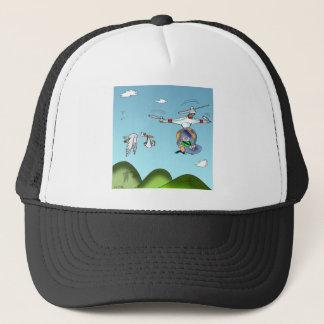 Drone Cartoon 9482 Trucker Hat
