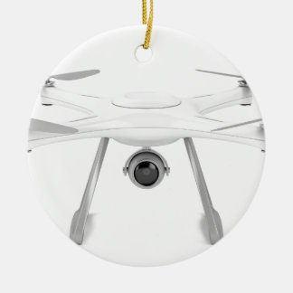 Drone Ceramic Ornament