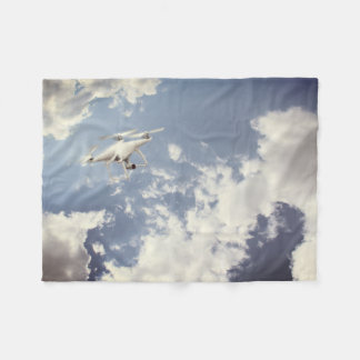 Drone Fleece Blanket