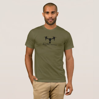 Drone Freelancer Mantra DJI Inspire T-Shirt