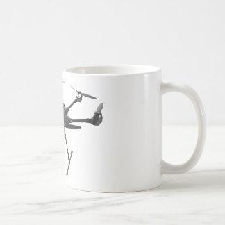 Drone Grey Coffee Mug