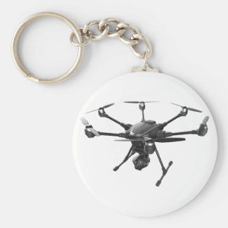 Drone Grey Keychain
