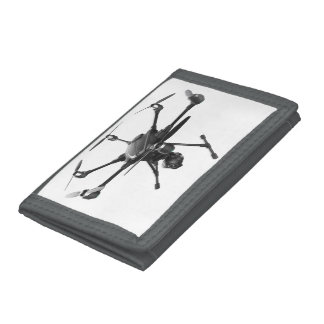 Drone Grey Trifold Wallet