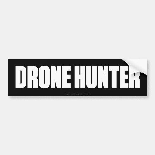 Drone Hunter Bumper Sticker