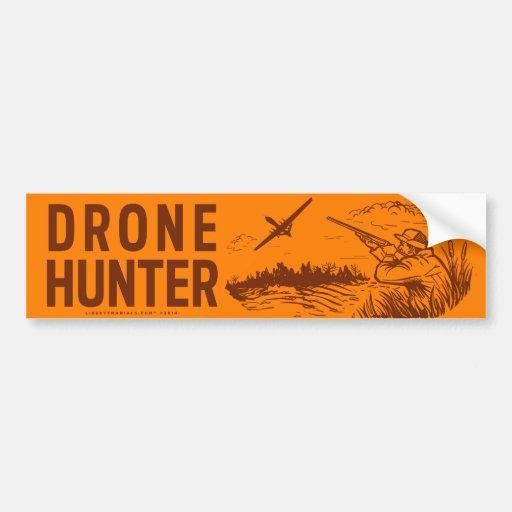 Drone Hunter Bumper Stickers