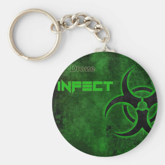 Drone Infect Key Chain