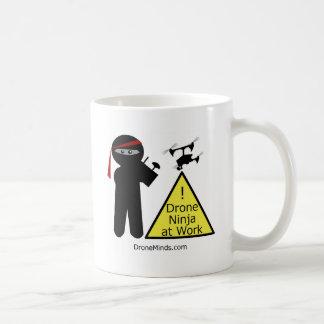 Drone Ninja at Work Coffee Mug