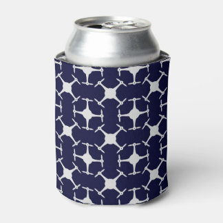 Drone pattern custom background color can cooler