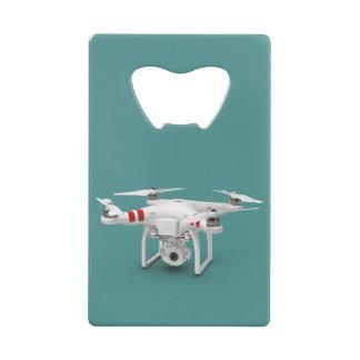 Drone phantom credit card bottle opener