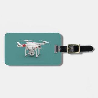 Drone phantom luggage tag