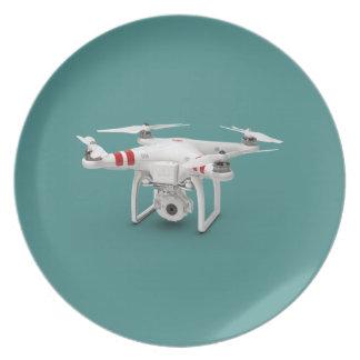 Drone phantom plate