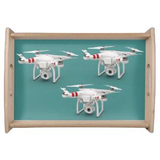 Drone phantom serving tray