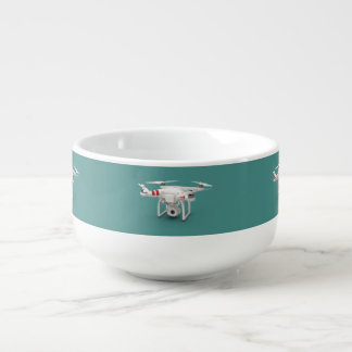 Drone phantom soup mug