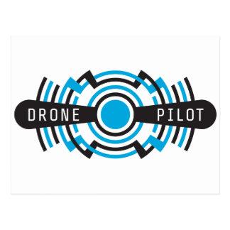 drone pilot postcard