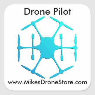 Drone Pilot Stickers