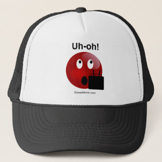 Drone Pilot Uh-Oh Trucker Hat