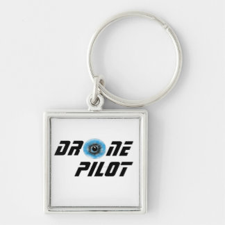 Drone pilot with eyeball keychain