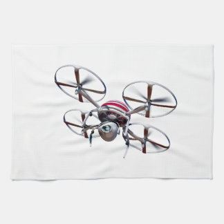 Drone quadrocopter hand towels