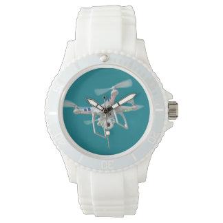 Drone white watch