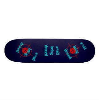drones custom skate board