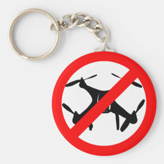 Drones not Allowed Keychain