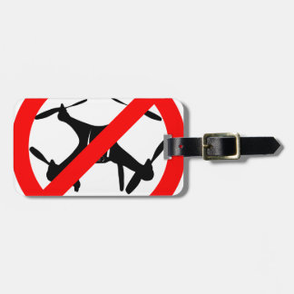 Drones not Allowed Luggage Tag