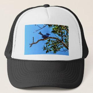 DRONGO RURAL  QUEENSLAND AUSTRALIA ART EFFECTS TRUCKER HAT