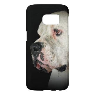 drooling American Bulldog Samsung Galaxy S7 Case