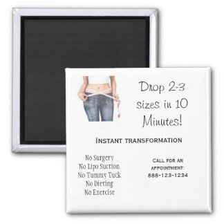 Drop 2-3 sizes in 10 Minutes Magnet