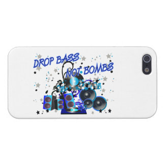 Drop Bass Not Bombs Case For iPhone 5/5S