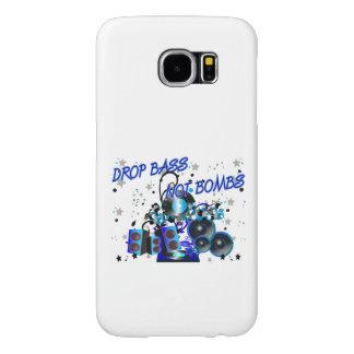 Drop Bass Not Bombs Music vs Violence Samsung Galaxy S6 Cases