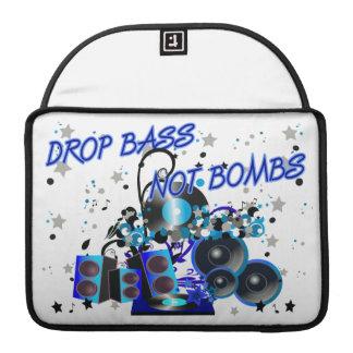 Drop Bass Not Bombs Sleeve For MacBooks