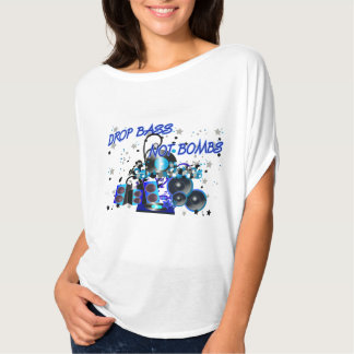 Drop Bass Not Bombs Tee Shirt
