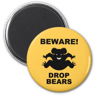 Drop Bears! Magnet