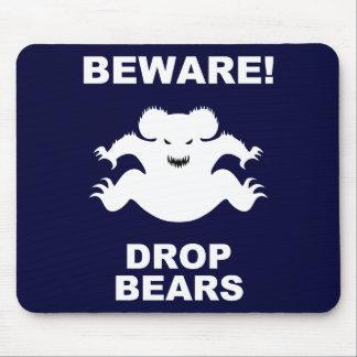 Drop Bears! Mouse Pad