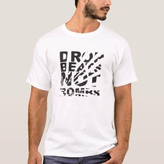 Drop Beats Not Bombs Explosion T-Shirt