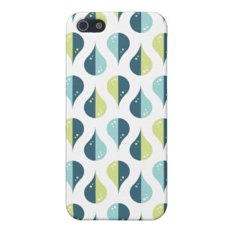 Drop Dance | Limegreen Blue Pattern Design Case For The iPhone 5