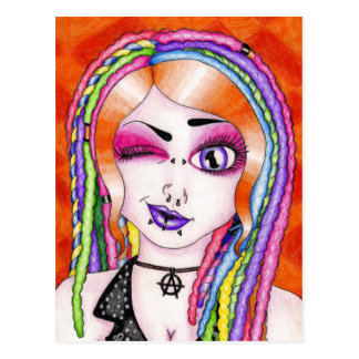 Drop Dread Gorgeous Postcard