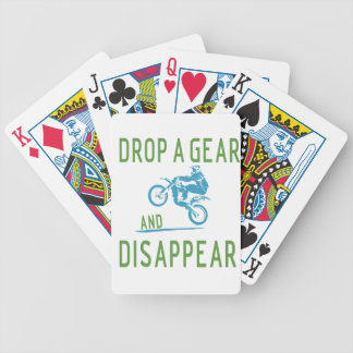 DROP GEAR BICYCLE PLAYING CARDS