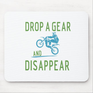DROP GEAR MOUSE PAD
