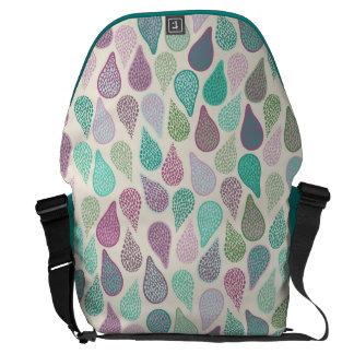 Drop in A drop pastels Messenger Bag